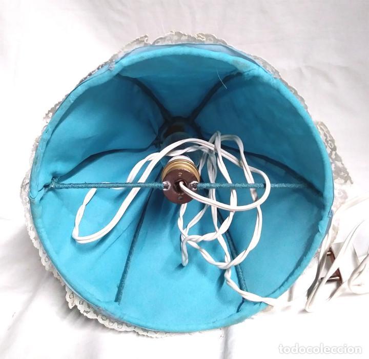 Muñecas Porcelana: Muñeca Lampara Mujer de Porcelana años 30, buen estado y funciona. Med 32 cm - Foto 3 - 154720138