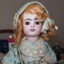 Muñecas Porcelana: MUÑECA-ARRASTRE MUSICAL,PORCELANA,FRANÇOIS GAULTIER,FINALES DEL S.XIX. Lote 154963142