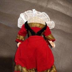 Muñecas Porcelana: CUERPO DE COMPOSICIÓN FRANCÉS 30 CM VESTIDO BRETÓN ORIGINAL. Lote 155390314