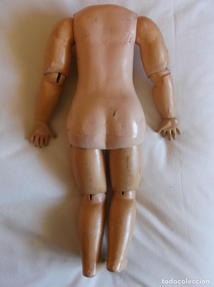 Muñecas Porcelana: Cuerpo Jumeau de muñeca francesa, original antiguo, marcado, 45 cm. - Foto 2 - 155768038