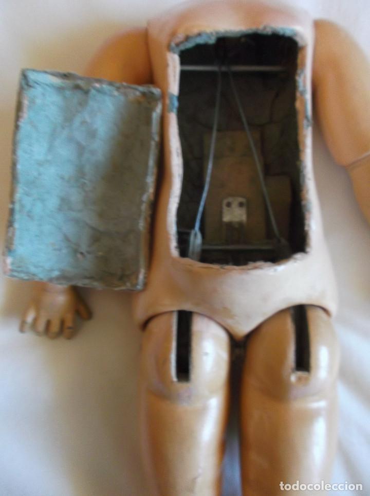 Muñecas Porcelana: Cuerpo Jumeau de muñeca francesa, original antiguo, marcado, 45 cm. - Foto 3 - 155768038