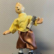 Muñecas Porcelana - IMPRESIONANTE GRAN AUTOMATA FRANCÉS FIGURA TINTIN 1940 MUY RARA - 137678594