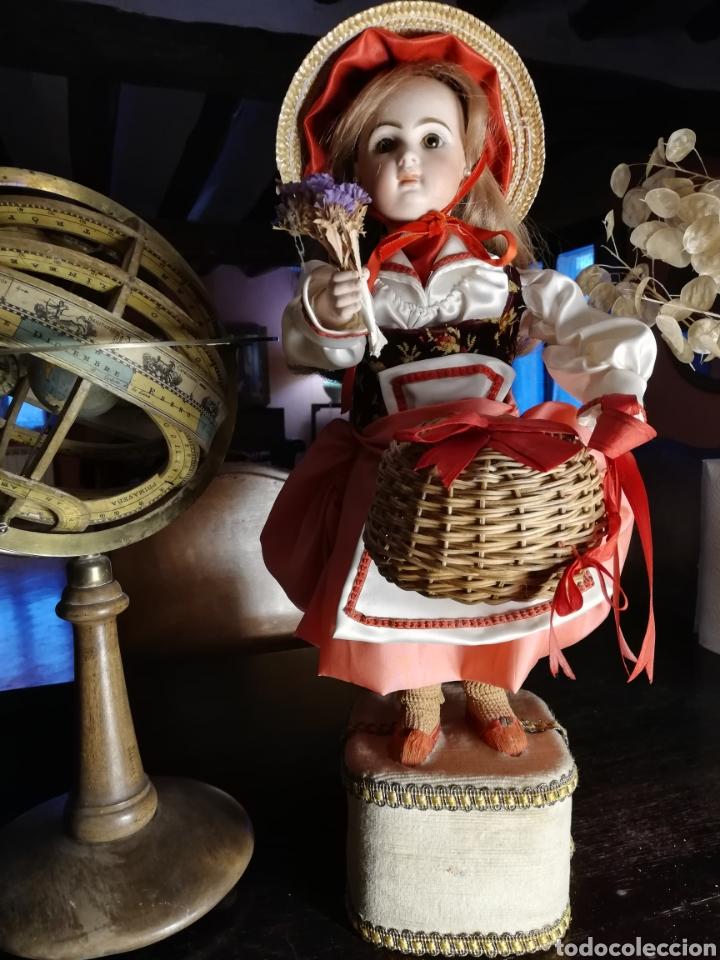 MUÑECA AUTÓMATA JUMEAU (Juguetes - Muñeca Extranjera Antigua - Porcelana Francesa)