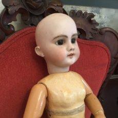 Muñecas Porcelana: MUÑECA FRANCESA, DEP, 11, CABEZA BISCUIT, CUERPO COMPOSICIÓN, OJOS DURMIENTES. Lote 159968564