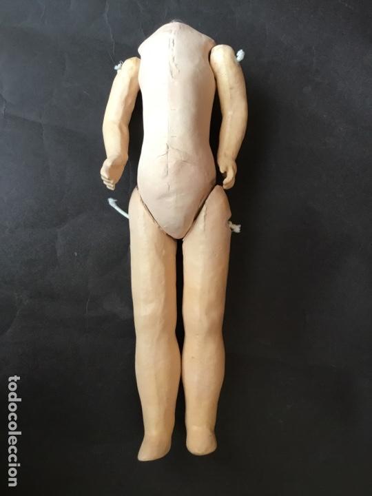 CUERPO ORIGINAL DE MUÑECA FRANCESA 31 CM. (Juguetes - Muñeca Extranjera Antigua - Porcelana Francesa)
