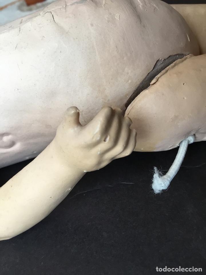 Muñecas Porcelana: Cuerpo original de muñeca francesa 31 cm. - Foto 3 - 161254033
