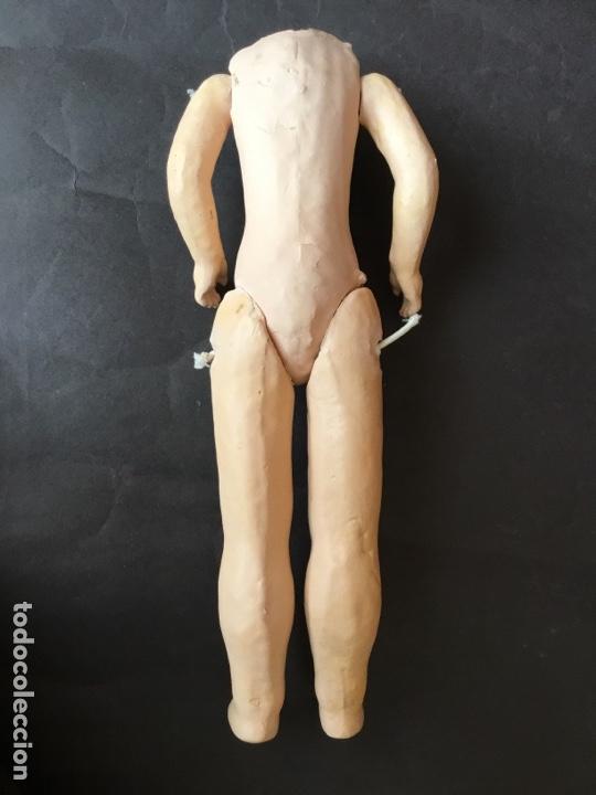 Muñecas Porcelana: Cuerpo original de muñeca francesa 31 cm. - Foto 7 - 161254033