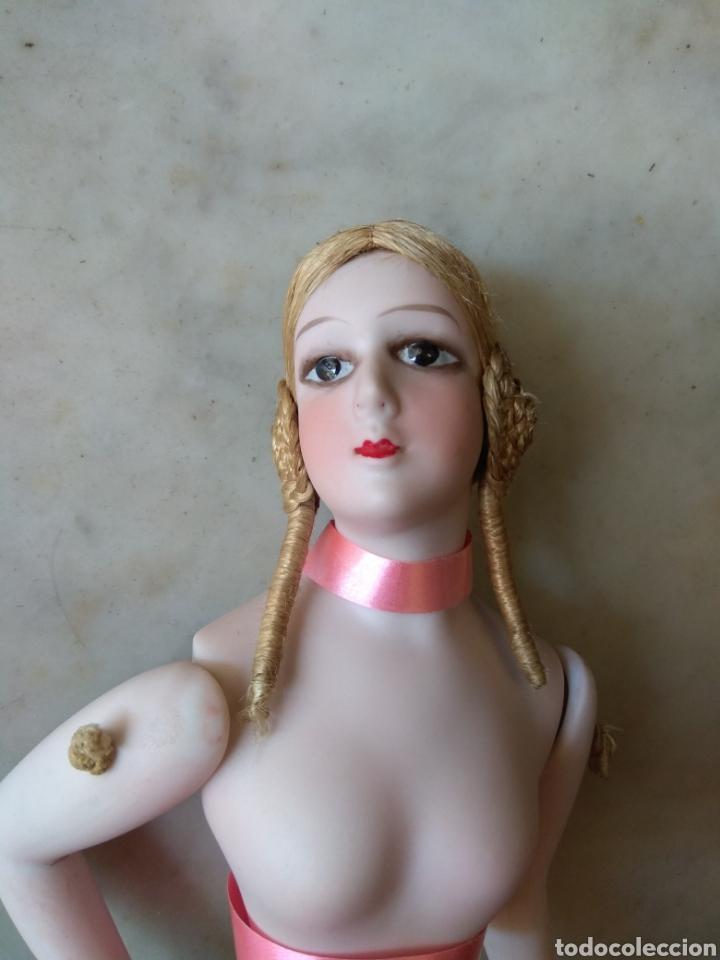 Muñecas Porcelana: Bonito Torso Muñeca de Porcelana - Probablemente Bombonera - - Foto 3 - 162123842