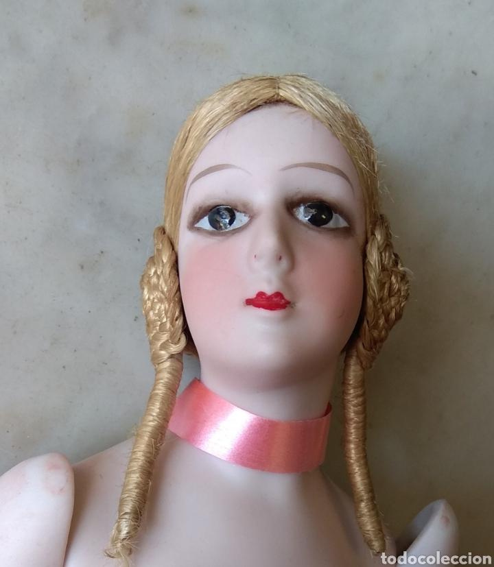 Muñecas Porcelana: Bonito Torso Muñeca de Porcelana - Probablemente Bombonera - - Foto 9 - 162123842