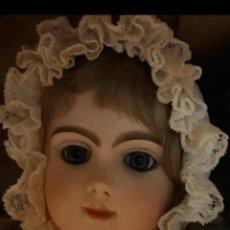 Muñecas Porcelana - Muñeca antigua paris bebe - 163602756