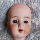 Muñecas Porcelana: CABEZA DE MUÑECA DE PORCELANA FRANCESA LEHMANN & CIE. Lote 163752786
