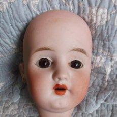 Muñecas Porcelana - Cabeza de muñeca de porcelana francesa Lehmann & Cie - 163752786