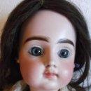 Muñecas Porcelana: MUY RARA BELLÍSIMA MUÑECA DE PORCELANA FRANCESA PINTEL & GODCHAUX BOCA CERRADA. Lote 164832578