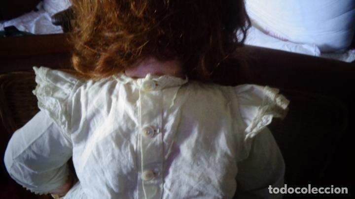 Muñecas Porcelana: HERMOSA MUÑECA FRANCESA DEP. TIENE UNA PEQUEÑA MUESCA EN EL OJO IZQUIERDO 70 CTMS. - Foto 3 - 166532430