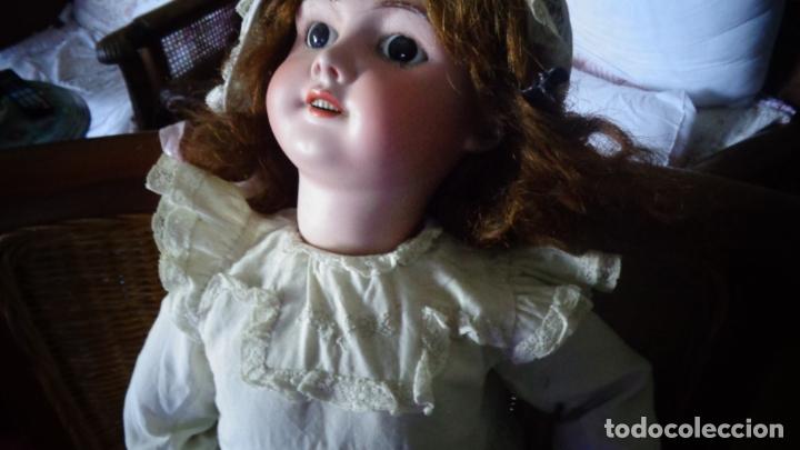 Muñecas Porcelana: HERMOSA MUÑECA FRANCESA DEP. TIENE UNA PEQUEÑA MUESCA EN EL OJO IZQUIERDO 70 CTMS. - Foto 6 - 166532430