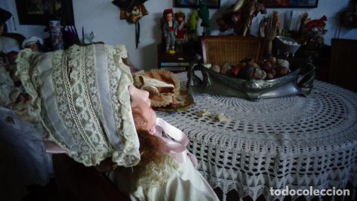 Muñecas Porcelana: HERMOSA MUÑECA FRANCESA DEP. TIENE UNA PEQUEÑA MUESCA EN EL OJO IZQUIERDO 70 CTMS. - Foto 7 - 166532430