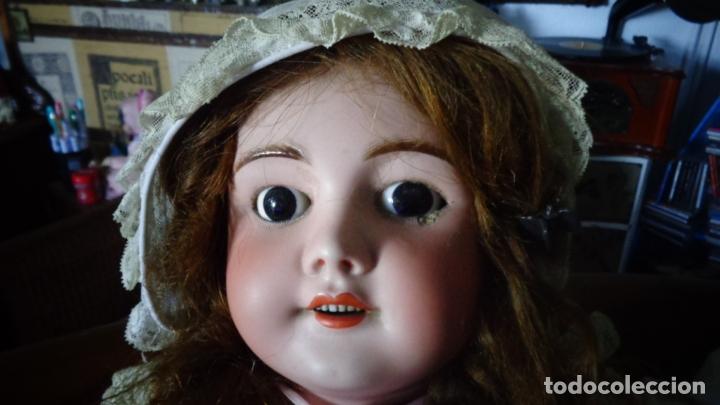 Muñecas Porcelana: HERMOSA MUÑECA FRANCESA DEP. TIENE UNA PEQUEÑA MUESCA EN EL OJO IZQUIERDO 70 CTMS. - Foto 12 - 166532430