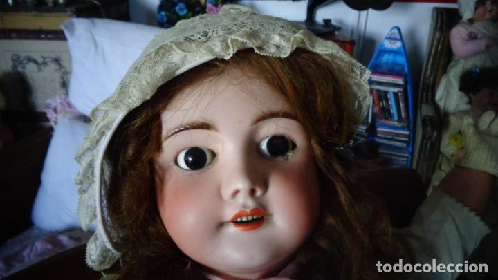 Muñecas Porcelana: HERMOSA MUÑECA FRANCESA DEP. TIENE UNA PEQUEÑA MUESCA EN EL OJO IZQUIERDO 70 CTMS. - Foto 13 - 166532430
