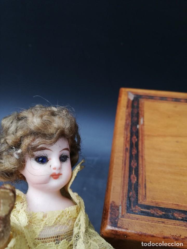 Muñecas Porcelana: automata siglo xix - Foto 6 - 166972760