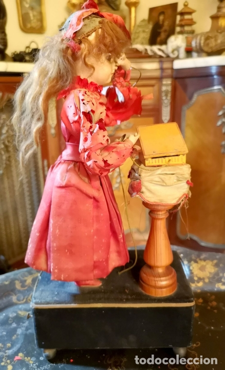 Muñecas Porcelana: MAGA AUTÓMATA. POSIBLEMENTE RENOU-JUMEAU. PORCELANA. FRANCIA. FINALES S. XIX - Foto 2 - 167903234