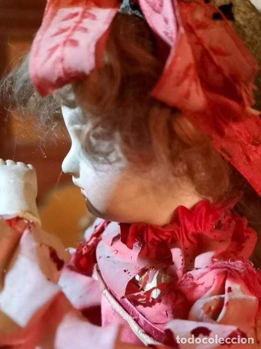 Muñecas Porcelana: MAGA AUTÓMATA. POSIBLEMENTE RENOU-JUMEAU. PORCELANA. FRANCIA. FINALES S. XIX - Foto 4 - 167903234