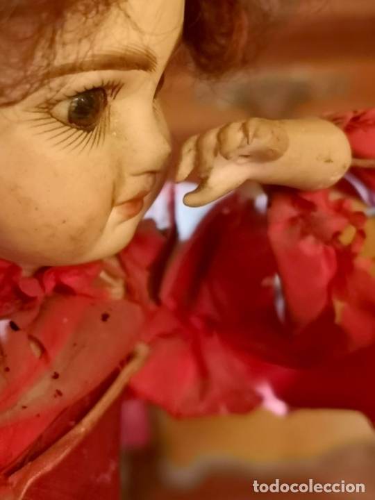 Muñecas Porcelana: MAGA AUTÓMATA. POSIBLEMENTE RENOU-JUMEAU. PORCELANA. FRANCIA. FINALES S. XIX - Foto 6 - 167903234