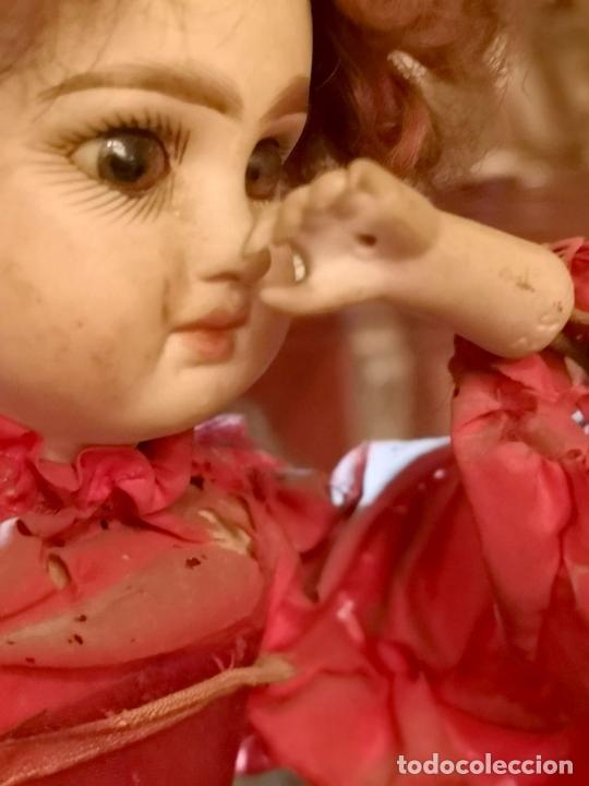 Muñecas Porcelana: MAGA AUTÓMATA. POSIBLEMENTE RENOU-JUMEAU. PORCELANA. FRANCIA. FINALES S. XIX - Foto 7 - 167903234