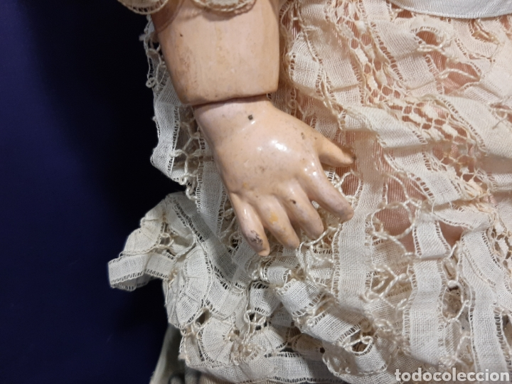 Muñecas Porcelana: PRECIOSA MUÑECA ANTIGUA JUMEAU, D.E.P. TALLA 12. CUERPO ARTICULADO. CABEZA DE PORCELANA. - Foto 11 - 168039576