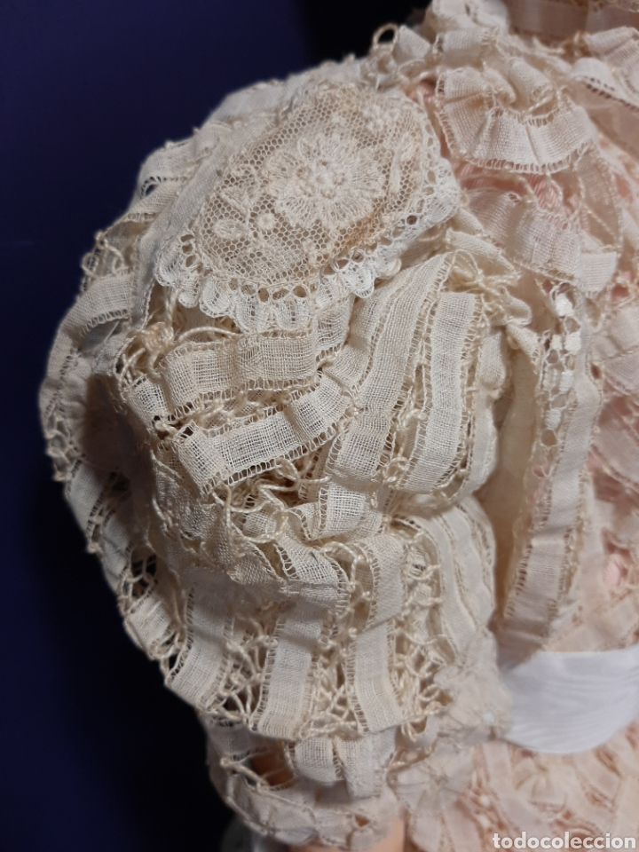 Muñecas Porcelana: PRECIOSA MUÑECA ANTIGUA JUMEAU, D.E.P. TALLA 12. CUERPO ARTICULADO. CABEZA DE PORCELANA. - Foto 13 - 168039576