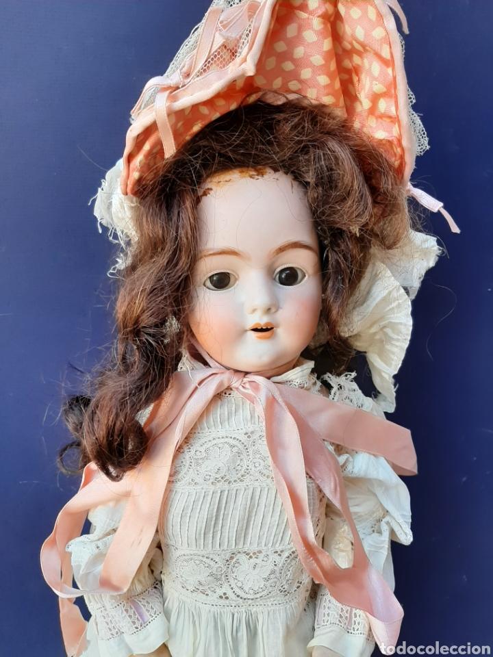 Muñecas Porcelana: ANTIGUA MUÑECA con marca ANCLA L C, TALLA 10 DE 68 CM DE ALTURA - Foto 2 - 168048025