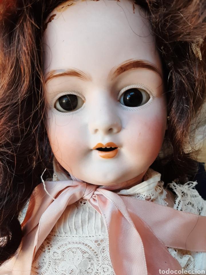 Muñecas Porcelana: ANTIGUA MUÑECA con marca ANCLA L C, TALLA 10 DE 68 CM DE ALTURA - Foto 3 - 168048025