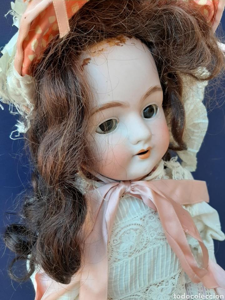 Muñecas Porcelana: ANTIGUA MUÑECA con marca ANCLA L C, TALLA 10 DE 68 CM DE ALTURA - Foto 5 - 168048025