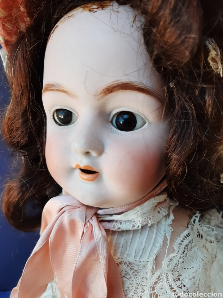 Muñecas Porcelana: ANTIGUA MUÑECA con marca ANCLA L C, TALLA 10 DE 68 CM DE ALTURA - Foto 6 - 168048025