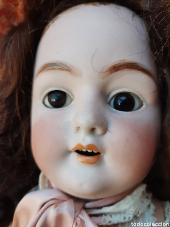 Muñecas Porcelana: ANTIGUA MUÑECA con marca ANCLA L C, TALLA 10 DE 68 CM DE ALTURA - Foto 7 - 168048025