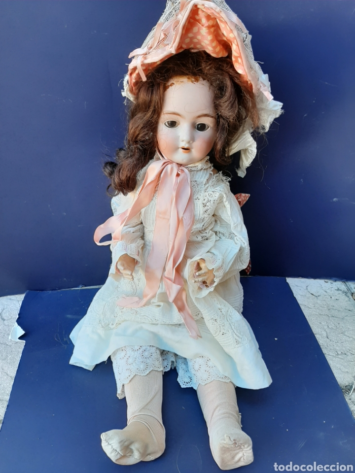Muñecas Porcelana: ANTIGUA MUÑECA con marca ANCLA L C, TALLA 10 DE 68 CM DE ALTURA - Foto 9 - 168048025