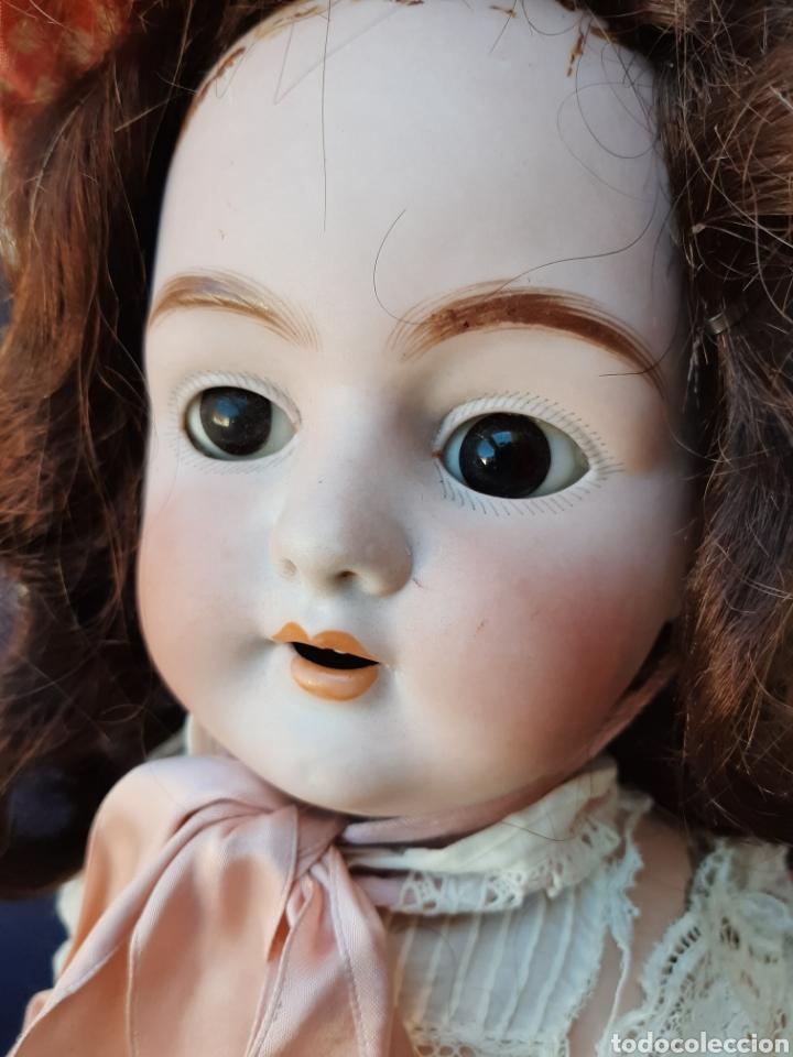 Muñecas Porcelana: ANTIGUA MUÑECA con marca ANCLA L C, TALLA 10 DE 68 CM DE ALTURA - Foto 8 - 168048025