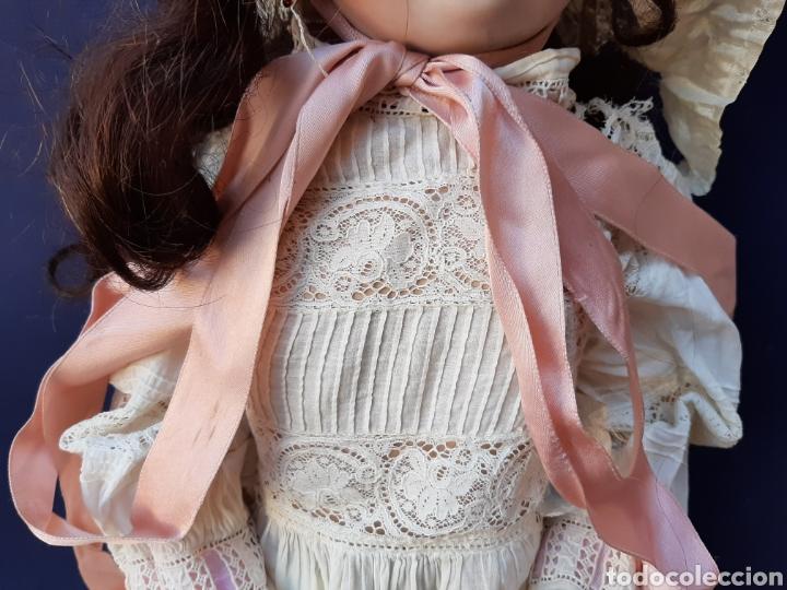 Muñecas Porcelana: ANTIGUA MUÑECA con marca ANCLA L C, TALLA 10 DE 68 CM DE ALTURA - Foto 10 - 168048025