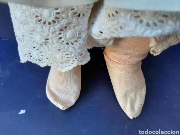 Muñecas Porcelana: ANTIGUA MUÑECA con marca ANCLA L C, TALLA 10 DE 68 CM DE ALTURA - Foto 12 - 168048025