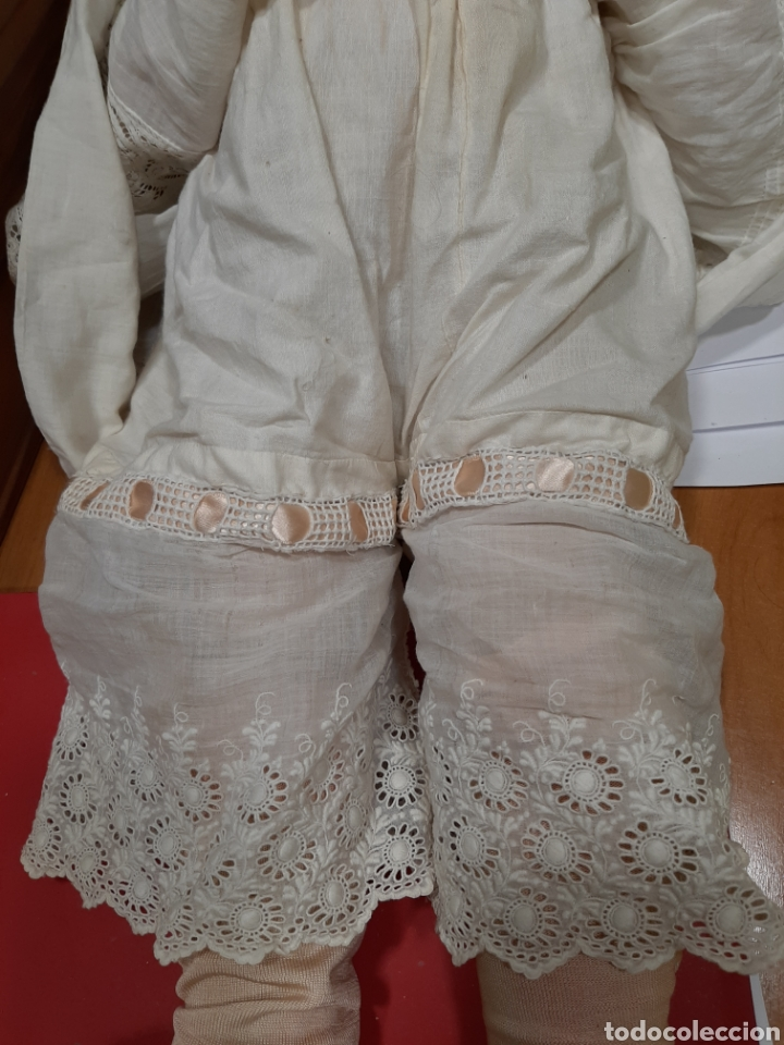 Muñecas Porcelana: ANTIGUA MUÑECA con marca ANCLA L C, TALLA 10 DE 68 CM DE ALTURA - Foto 19 - 168048025