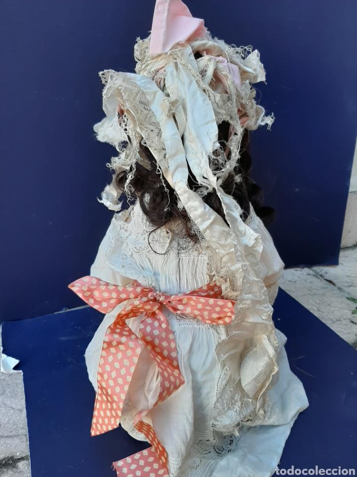 Muñecas Porcelana: ANTIGUA MUÑECA con marca ANCLA L C, TALLA 10 DE 68 CM DE ALTURA - Foto 21 - 168048025
