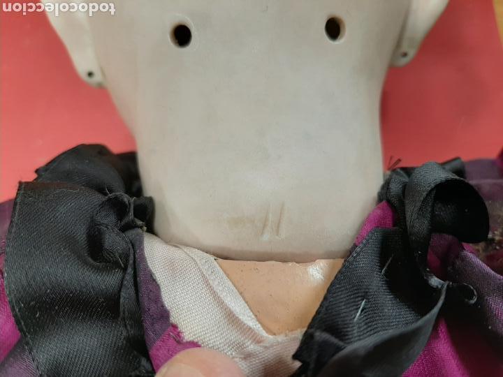 Muñecas Porcelana: MUÑECA ANTIGUA JUMEAU D.E.P. TALLA 11 DE 63 CM. PARA RESTAURAR. - Foto 6 - 168056713