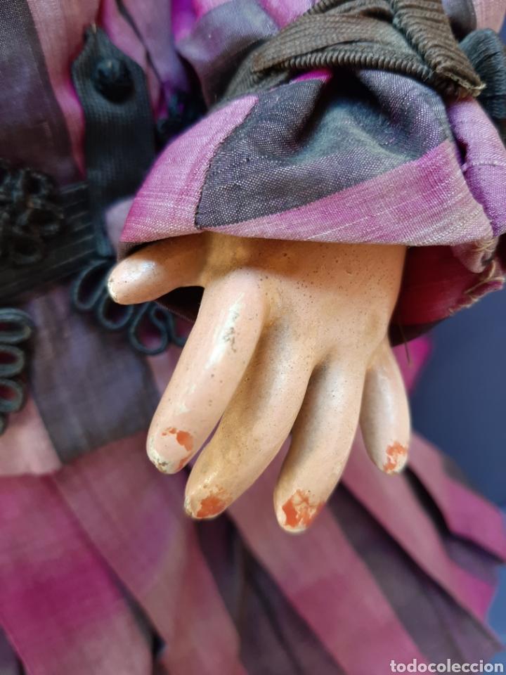 Muñecas Porcelana: MUÑECA ANTIGUA JUMEAU D.E.P. TALLA 11 DE 63 CM. PARA RESTAURAR. - Foto 8 - 168056713