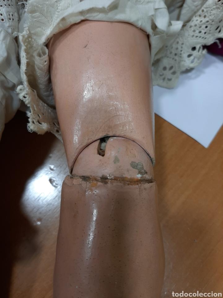 Muñecas Porcelana: MUÑECA ANTIGUA JUMEAU D.E.P. TALLA 11 DE 63 CM. PARA RESTAURAR. - Foto 10 - 168056713