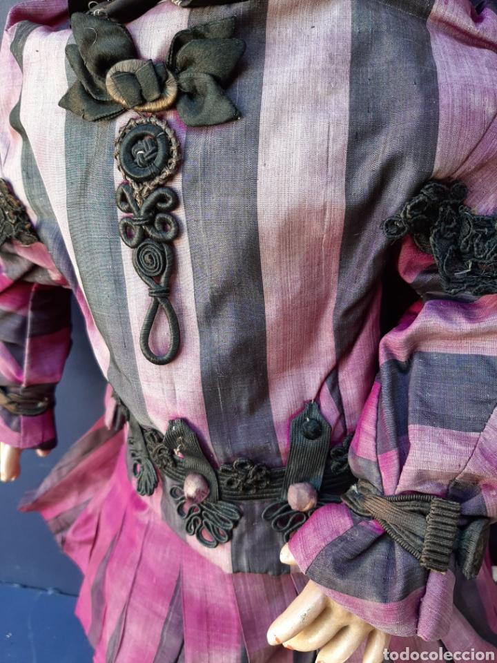 Muñecas Porcelana: MUÑECA ANTIGUA JUMEAU D.E.P. TALLA 11 DE 63 CM. PARA RESTAURAR. - Foto 12 - 168056713
