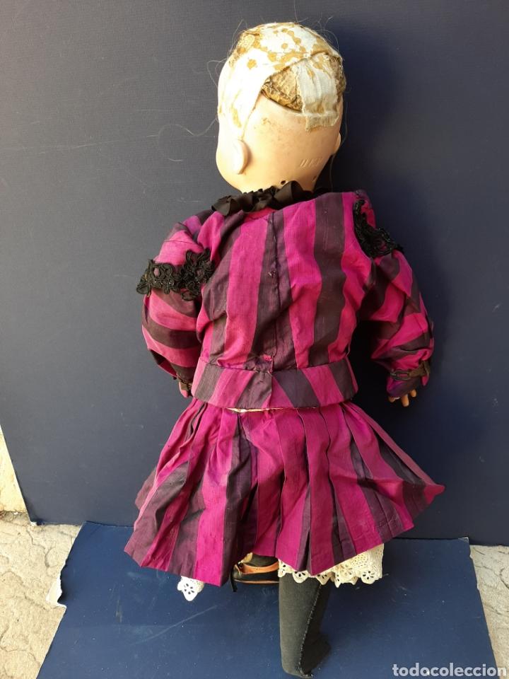 Muñecas Porcelana: MUÑECA ANTIGUA JUMEAU D.E.P. TALLA 11 DE 63 CM. PARA RESTAURAR. - Foto 15 - 168056713