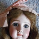 Muñecas Porcelana: EXCEPCIONAL MUÑECA FRANCESA JULES STEINER FRE A 15 DE BOCA CERRADA, TODA ORIGINAL, 1880-1890. Lote 168402004