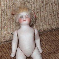 Muñecas Porcelana: DIFÍCIL MIGNONETTE,PORCELANA,FRANCE,NUMERADA,FINALES DEL SIGO XIX. Lote 170895110
