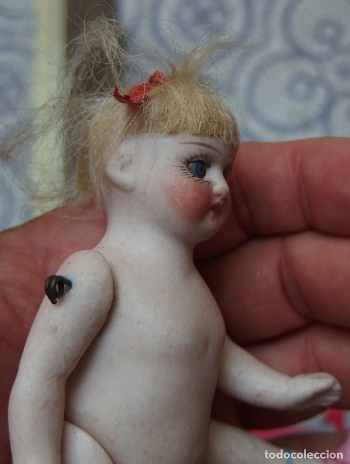 Muñecas Porcelana: DIFÍCIL MIGNONETTE,PORCELANA,FRANCE,NUMERADA,FINALES DEL SIGO XIX - Foto 8 - 170895110