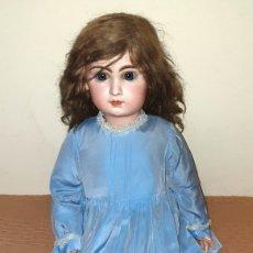 Bonecas Porcelana: MUÑECA FRANCESA JUMEAU. TETE JUMEAU. GRAN CALIDAD Y PERFECTO ESTADO. 82 CMS. ALTURA. BOCA CERRADA. Lote 190195748