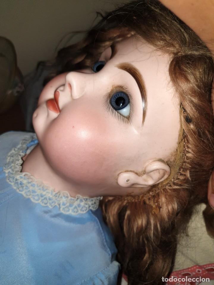 Muñecas Porcelana: MUÑECA FRANCESA JUMEAU. TETE JUMEAU. GRAN CALIDAD Y PERFECTO ESTADO. 82 CMS. ALTURA. BOCA CERRADA - Foto 12 - 190195748
